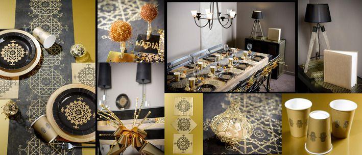 decoration table mariage oriental pas cher