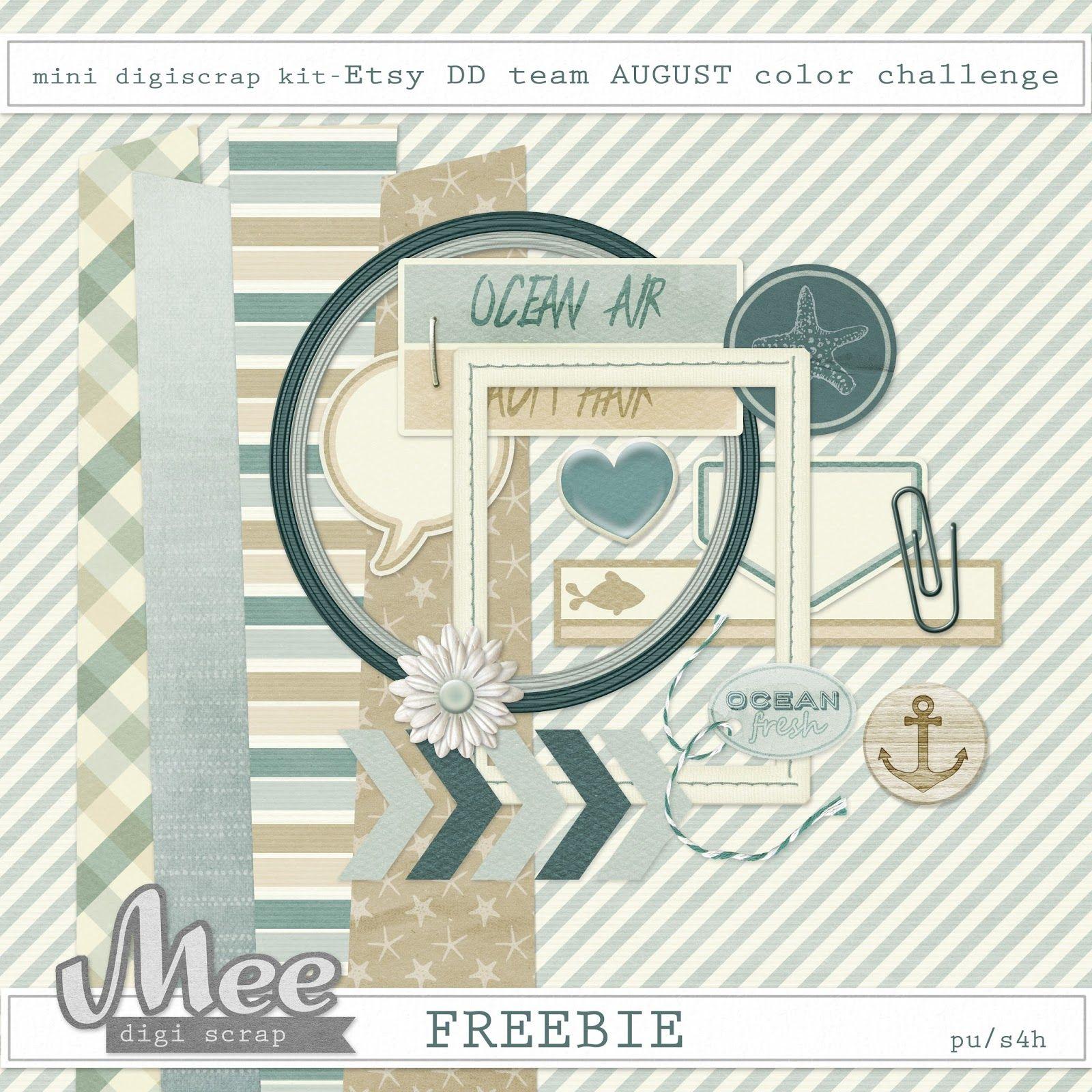 Scrapbook ideas download free - Mee Scrapbook Kits Free Download Free Mini Scrapbook Kit
