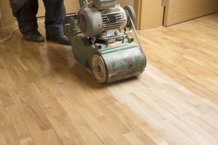 Make The Floor Sanding And Polishing Look Amazingly New Deck