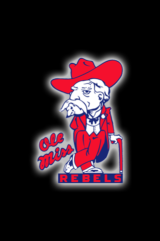 Free Ole Miss Rebels Iphone Ipod Touch Wallpapers Ole Miss Football Ole Miss Ole Miss Rebels