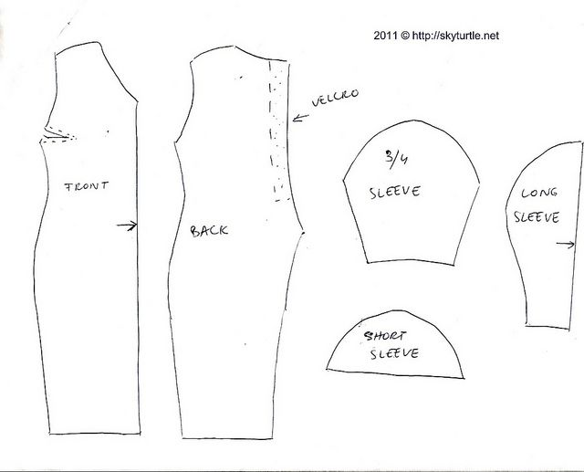 This is an image of Gutsy Printable Barbie Clothes Patterns