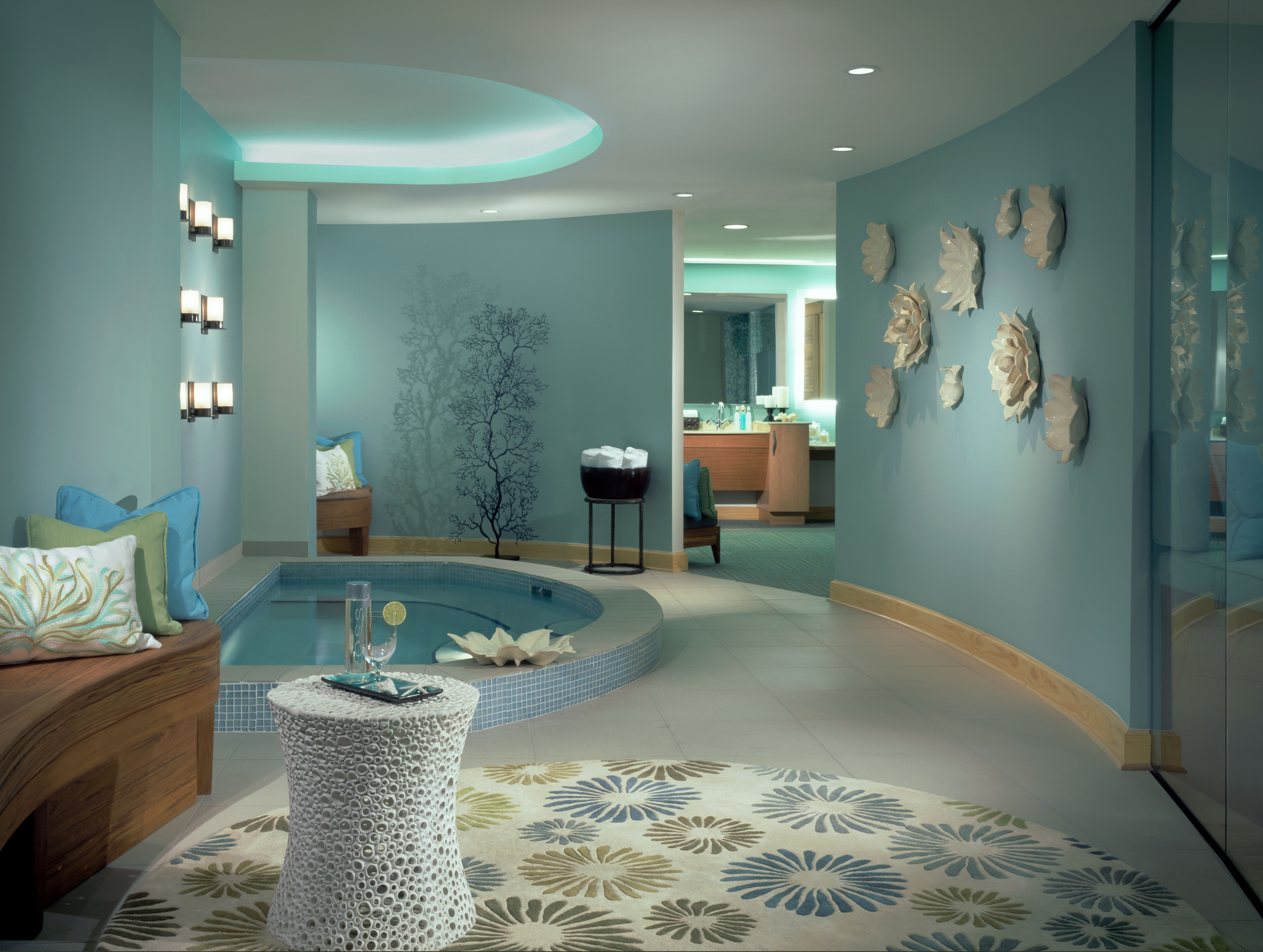 Spa rooms 25607539 h1 spa ladies locker room lanscape for Bathroom ideas spa themed
