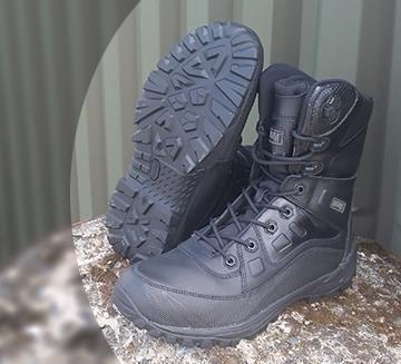 MAGNUM Hi-Tec Leder Lynx 6.0 Mid Stiefel Boots Army Schuhe Security Schuhe NEU