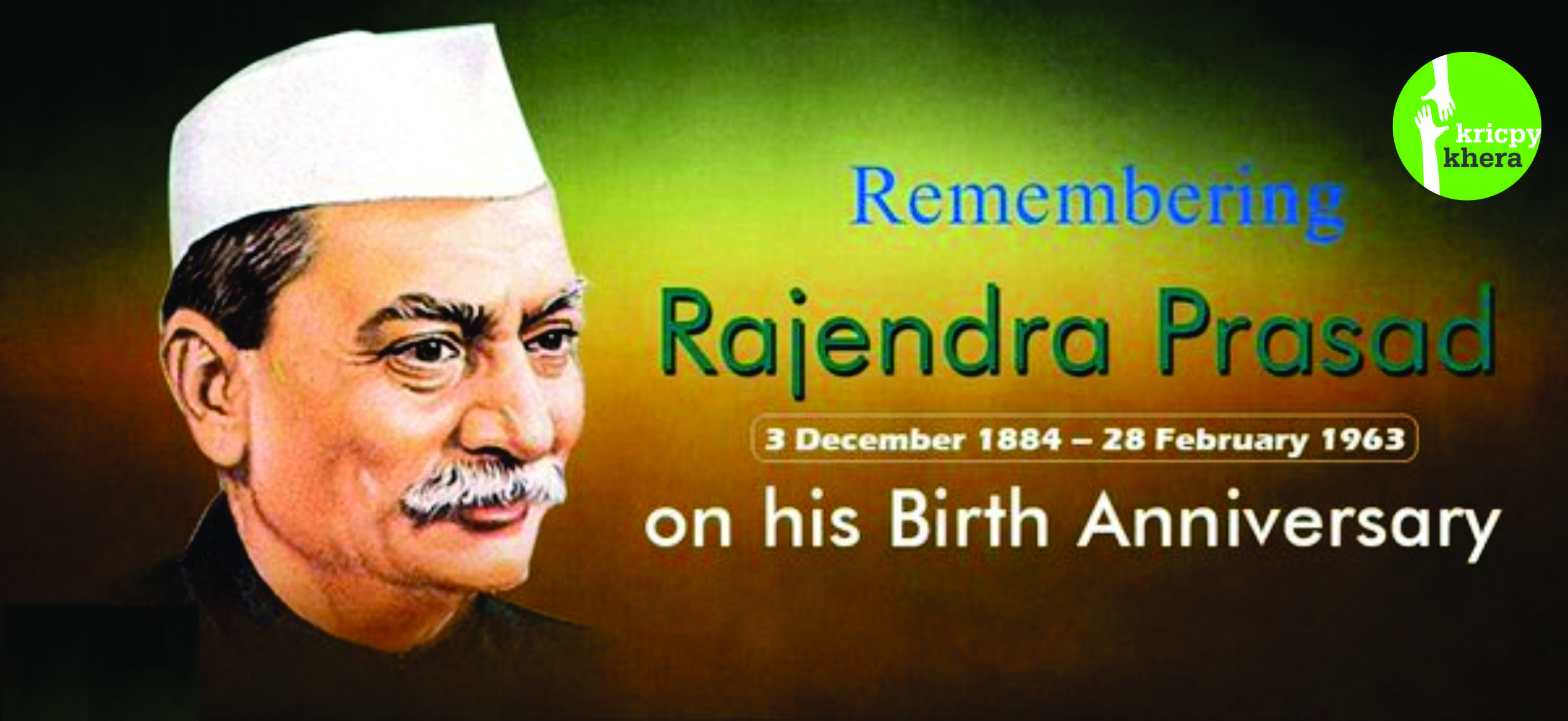 We Pay Tribute To The First President Of India Dr