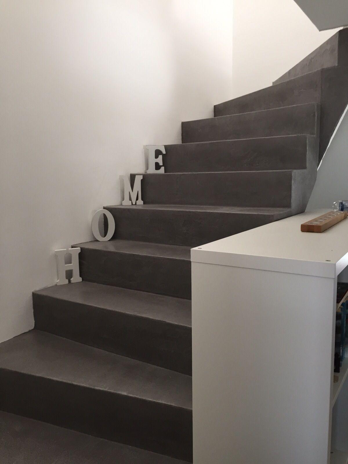 Beton Cire Treppe beton cire treppe deko betonoptik deko
