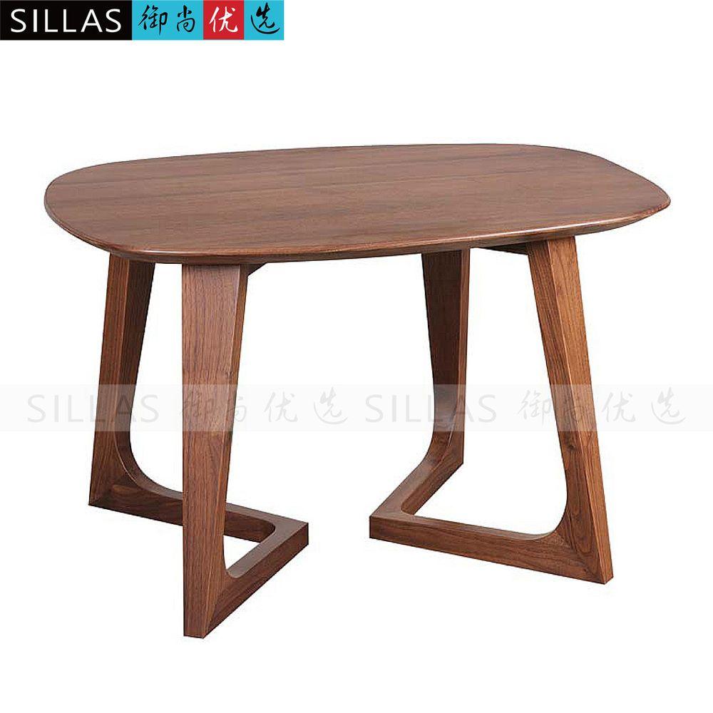Barato preto madeira de nogueira m veis pequena mesa mesa for Mesa de cafe pequena sala de estar
