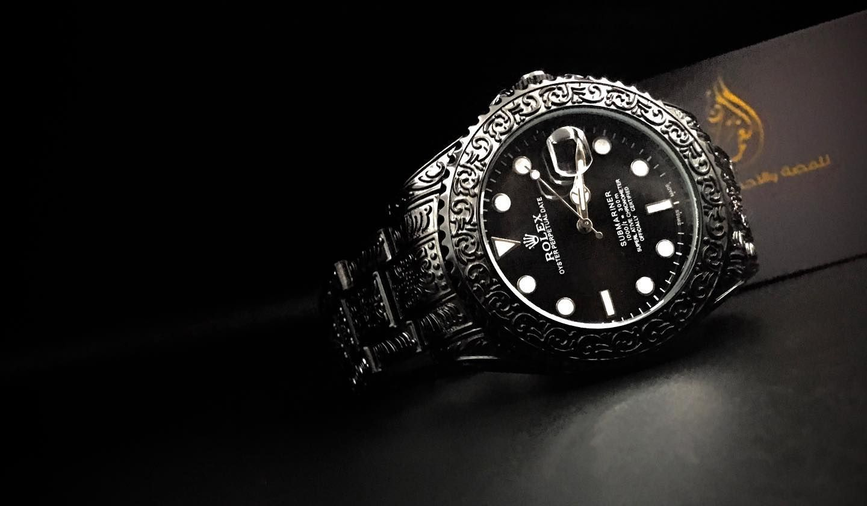 Rolex Black نقش حفر رولكس رجالي جديد الطراز New لطلب او الاستفسار واتساب على الرابط Https Wa Me 967736850402 او زيار Rolex Watches Accessories Rolex