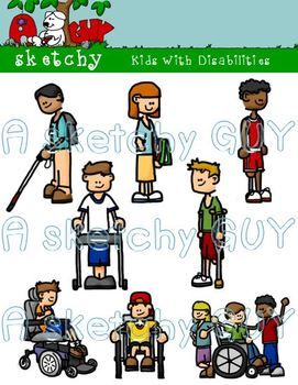 kids with disabilities clipart special education multiple rh pinterest com special education clipart free Elementary Education Clip Art