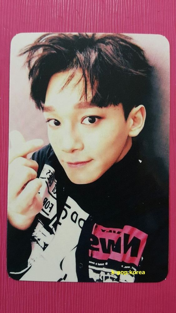 EXO CHEN Official Photocard WHITE Ver. SING FOR YOU Winter Special Album 첸