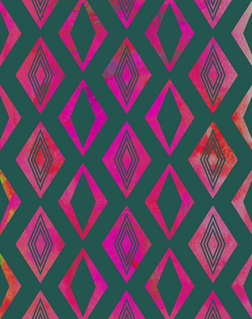 Diamond pattern (Pink)   Flickr – 相片分享!
