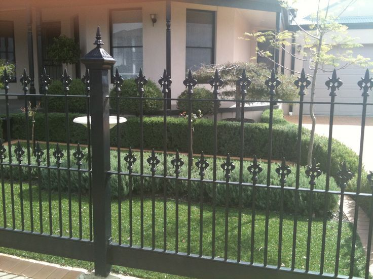 Image Result For Front Yard Iron Fence Ideas Fence Design Front Yard Fence Iron Fence
