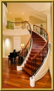 The Best Location For Stairs Is Tucked Into The Home, Away From The  Entrance And