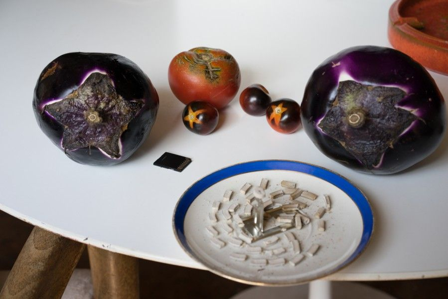 still life (photographic vegetables), 2014 Wolfgang Tillmans