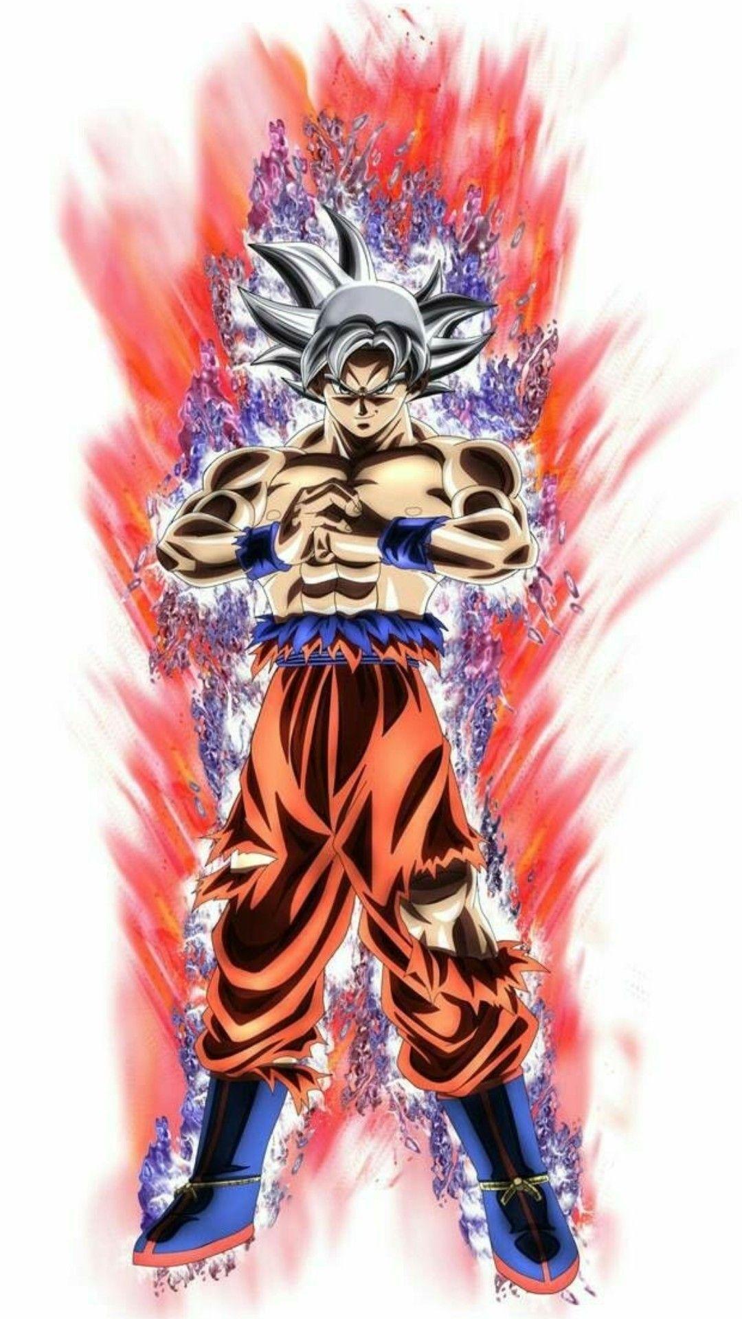 Goku En Su Fase Mas Poderosa Por Ahora Goku Ultra Instinto Dominado