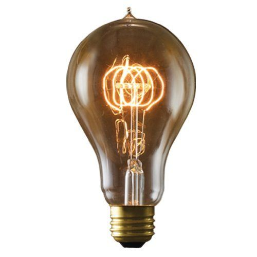 Sweet A Neo Victorian Light Bulb On Amazon I Neeeeeeeed It Bulbrite Nos40 Victor A23 40 Watt Nostalgic Edison Vintage Bulb Vintage Light Bulbs Light Bulb