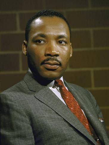 'Portrait of Rev. Martin Luther King, Jr' Photographic Print - | Art.com