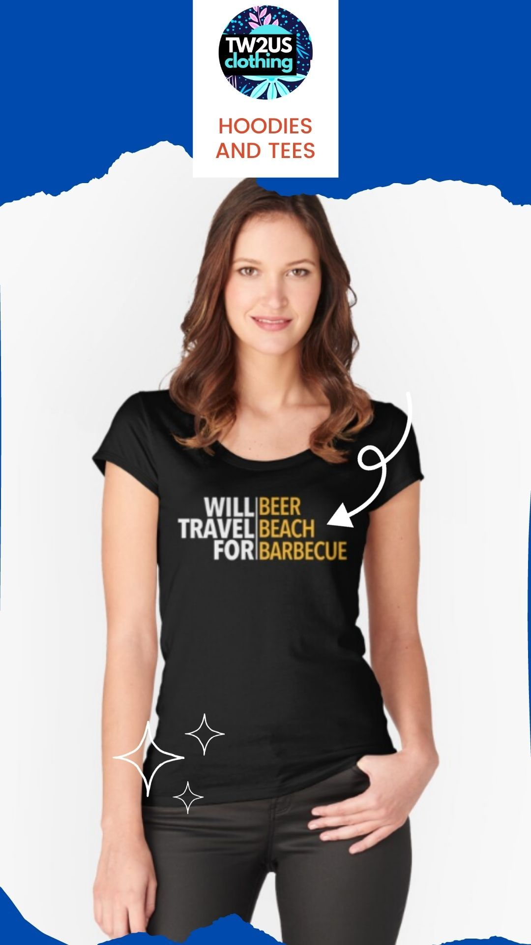 Yes sir! I definitely will. This #traveldesign says it all if you're a #foodie or a lover of either #beers, #beaches, #barbecue or all three. Give this #traveltshirt to friends and family members so they can make a statement about the things they love.