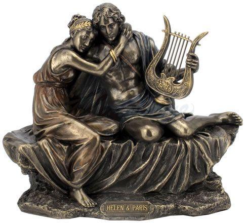 Helen and Paris Greek Statue, Greek-Roman-Sculptures-Statues, AAWU76402A4