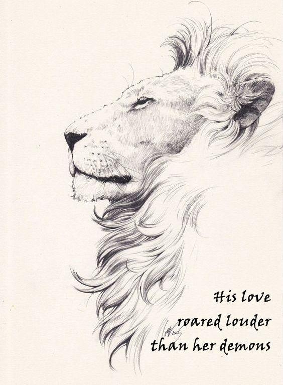 Lieben Sie dieses Bild eines Löwen, der die Bleistiftzeichnung ist, die von Devianart heruntergeladen wird. Er lo …
