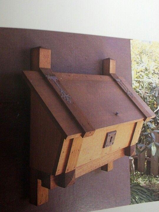 Mailbox Wooden Mailbox Diy Mailbox Cool Mailboxes