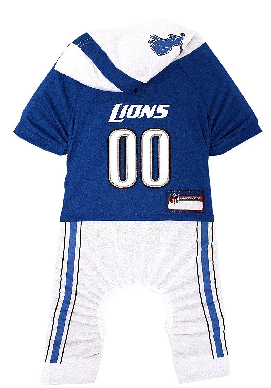 NFL Detroit Lions Pet Onesie fbd8a2d80