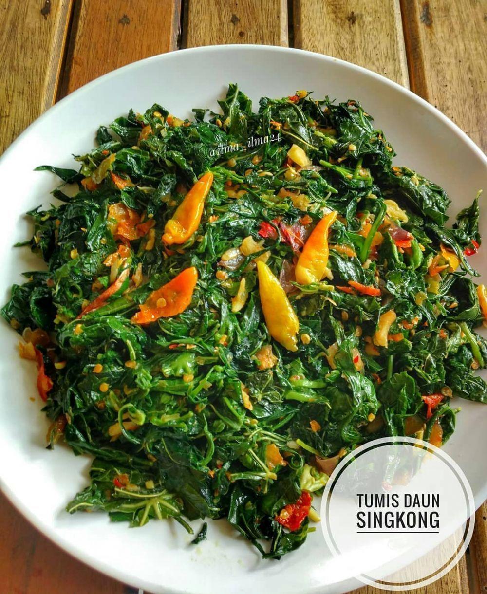 Resep Masakan Sehari Hari Olahan Daun Singkong Instagram Di 2021 Resep Masakan Masakan Resep