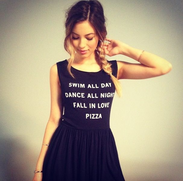 Wildfox pizza party dress
