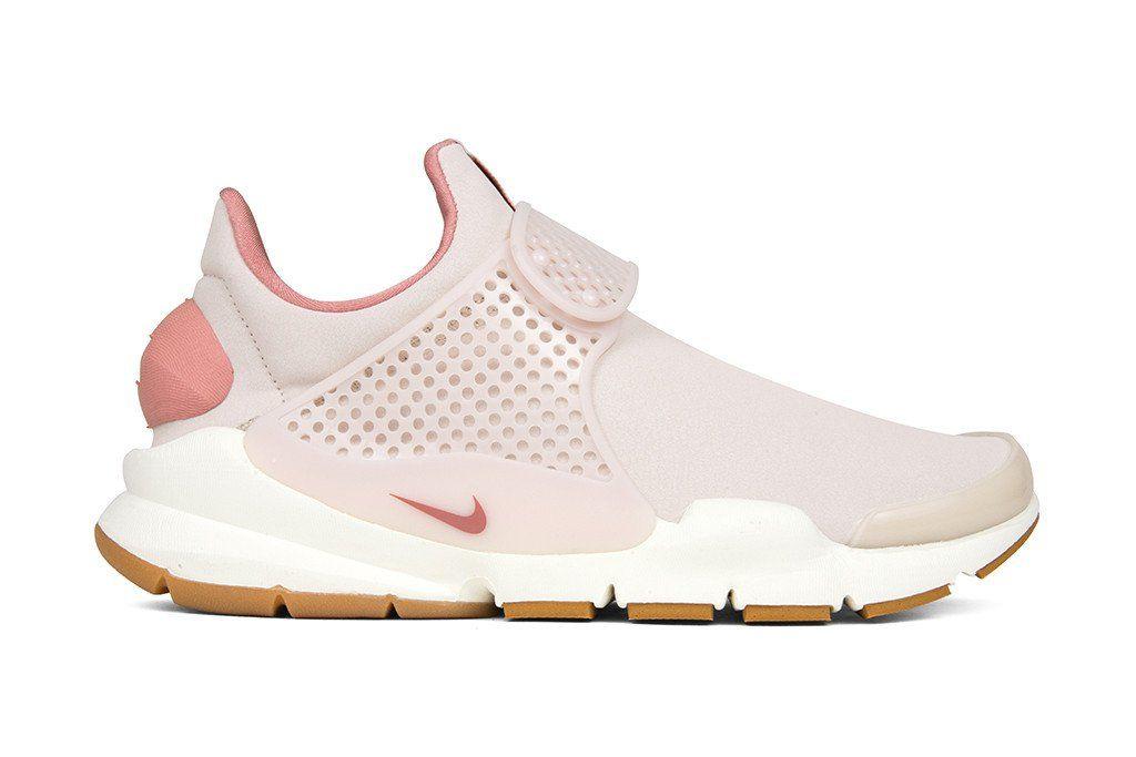 reputable site 247b4 4106e Nike Women s Sock Dart Premium - Silt Red Rouge Limon