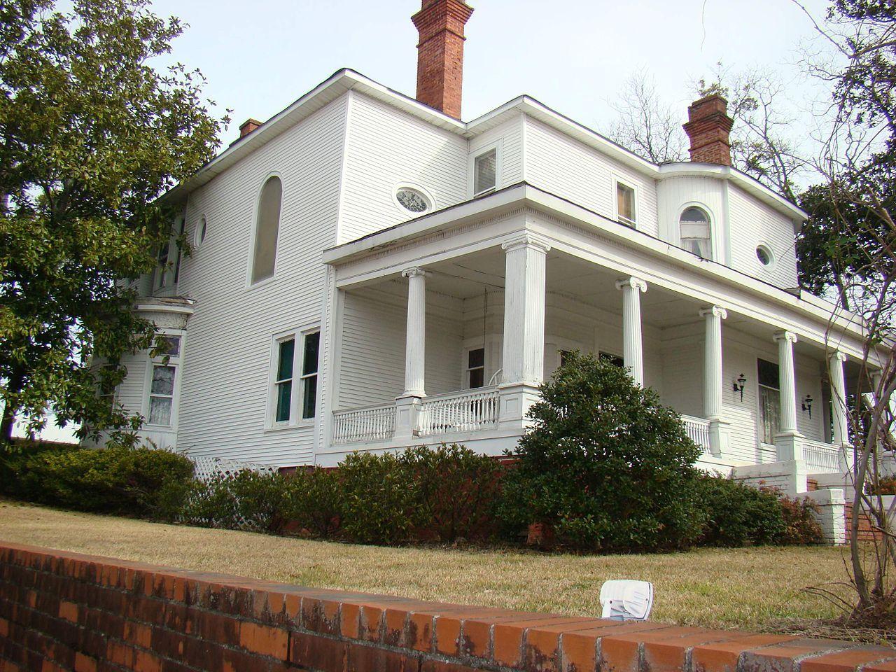 James B. Simmons House in Stephens County, Georgia.