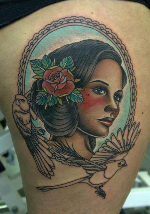 Pin By Santana Gonzales On Tattoo Inspo Portrait Tattoo Tattoos Side Portrait