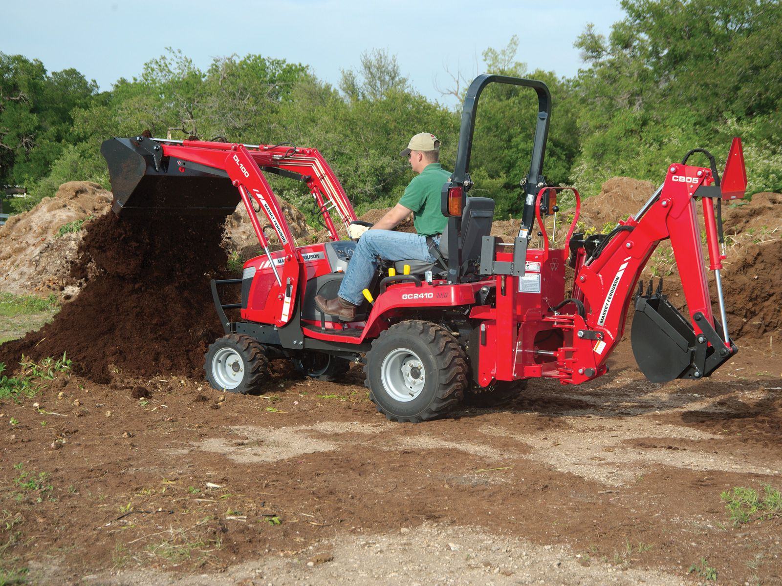 Massey Ferguson Gc Series Sub Compact Tractor