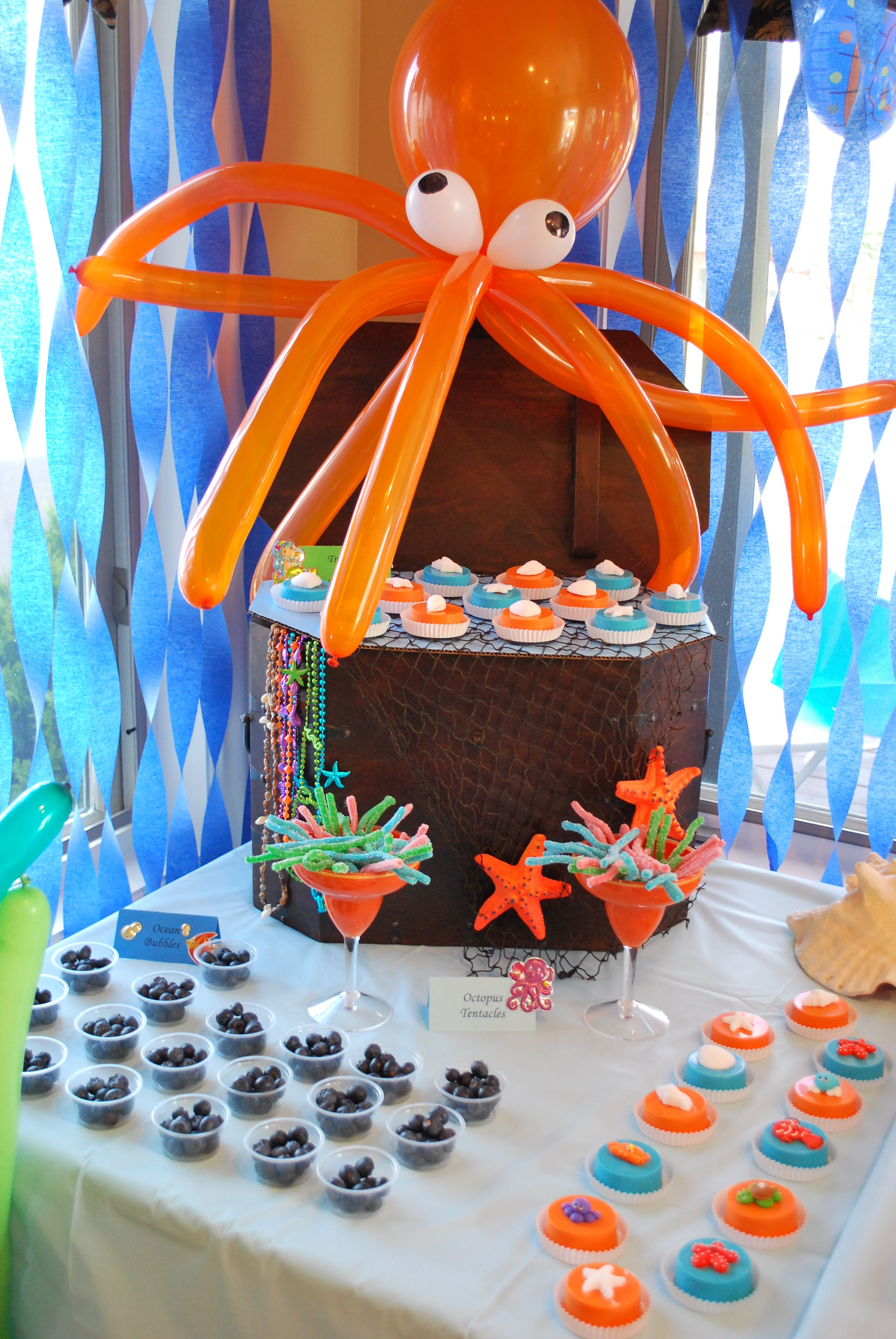 Under the Sea Party  Fiesta  Pinterest  Birthdays Mermaid