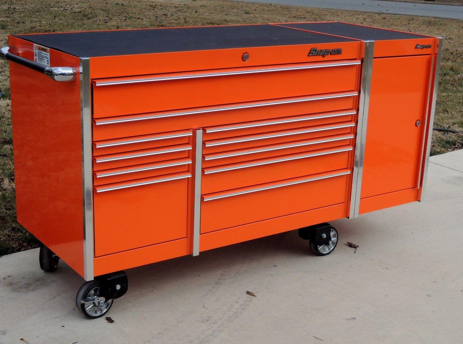 Snap On Orange Krl7022 Toolbox Tool Box Krl7015 Side Locker Work Mat Tool Box Tool Storage Tool Chest