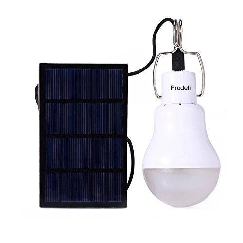 Prodeli Solarleuchten Led Lampe Upgrades Tragbare 150lm 1600ma Batterie Solarleuchte Fur Den Aussenbereich Wand Mit Bildern Solarleuchten Campingbeleuchtung Zeltbeleuchtung