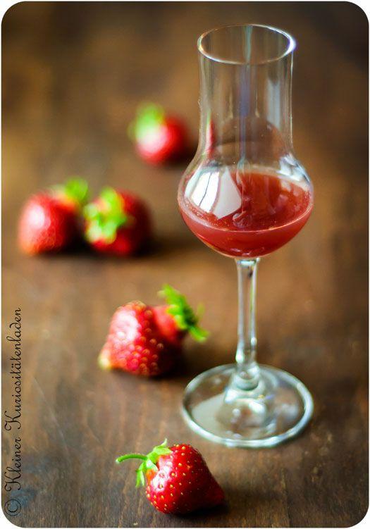 Erdbeer-Essig Infusions, Essig, Ole, Honig und Senf Pinterest - selbstgemachtes aus der küche