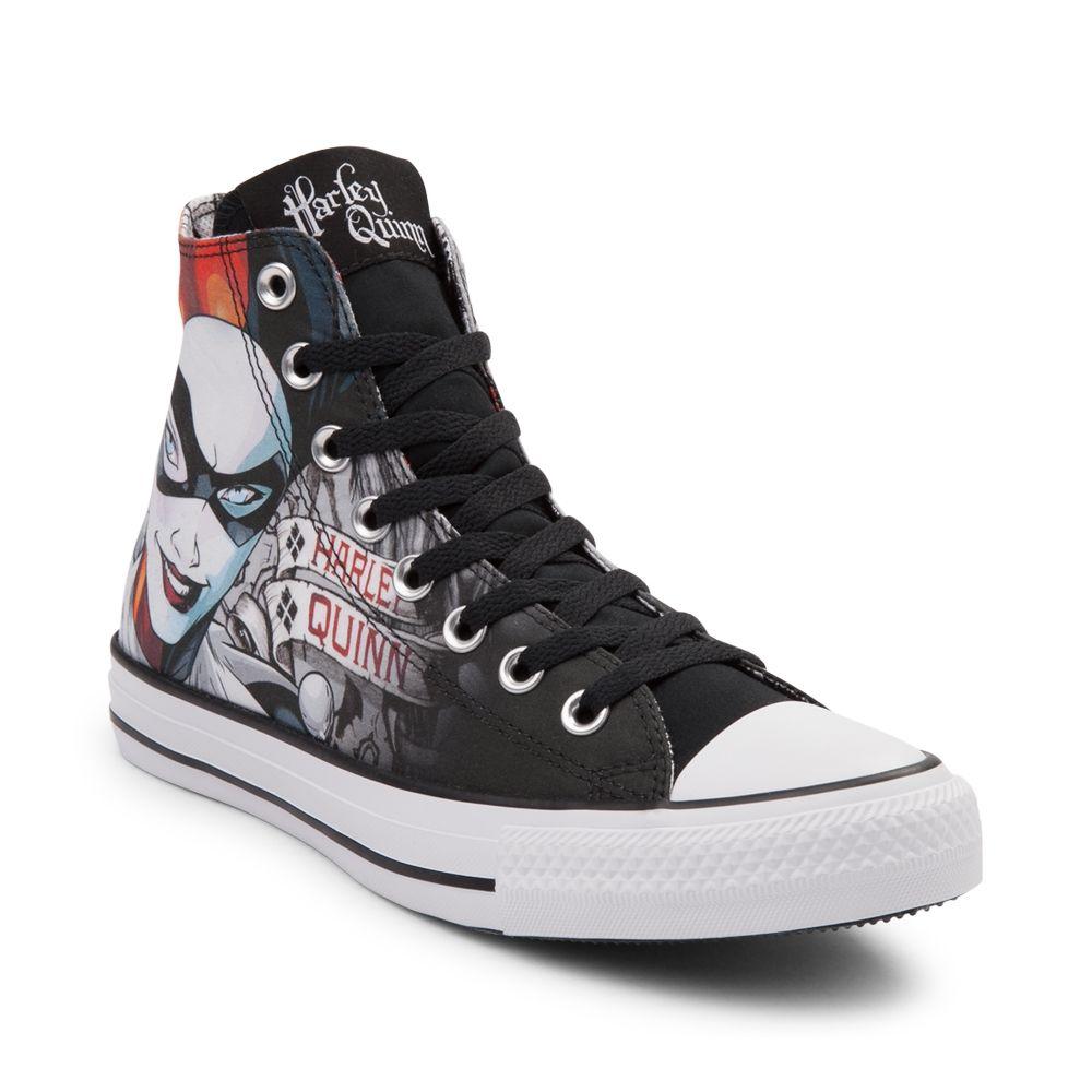37f801c8ca278d Converse Chuck Taylor All Star Hi Harley Quinn Sneaker - Black - 399477