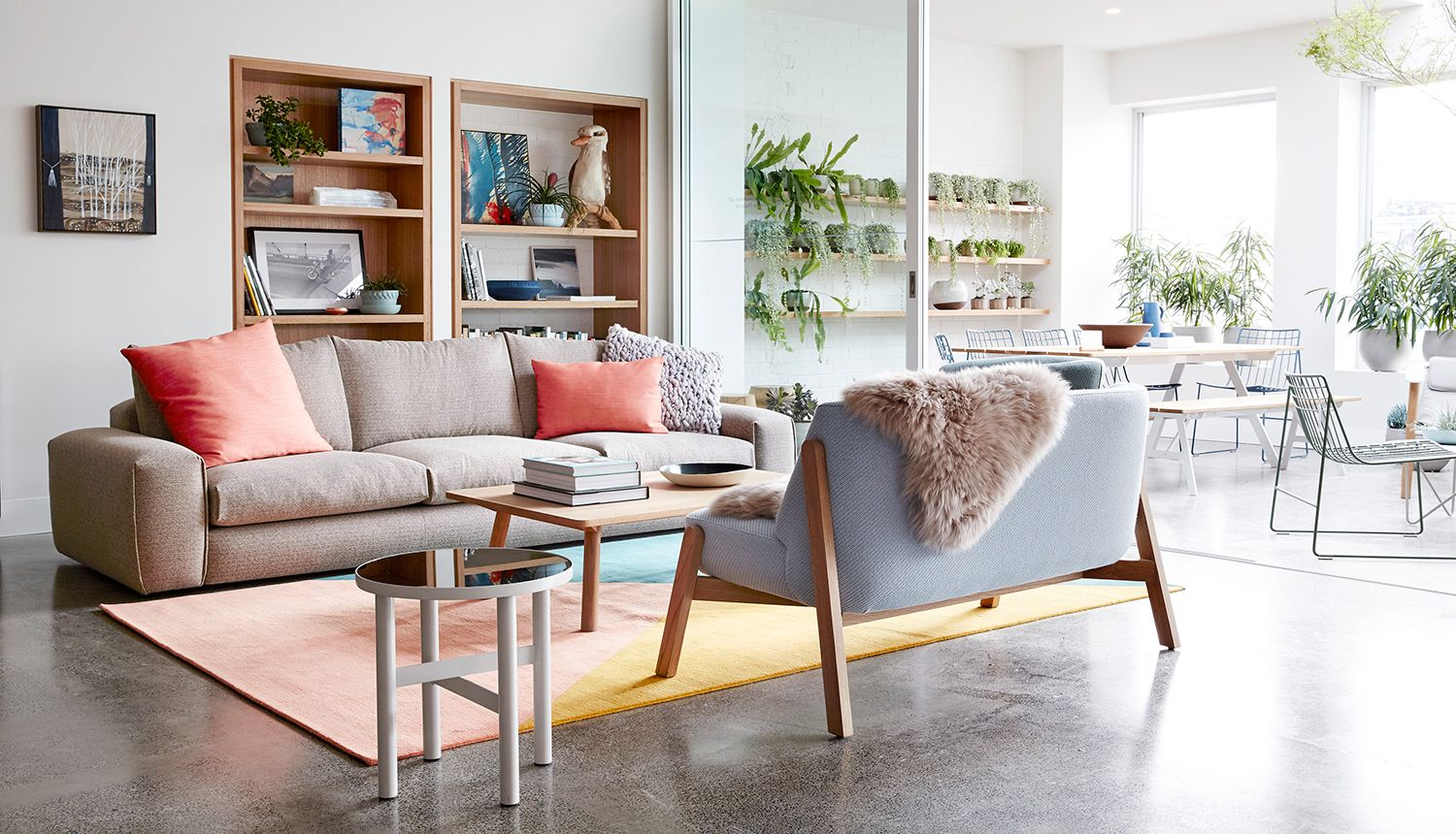 Melbourne Shopping New Jardan Flagship Living Room