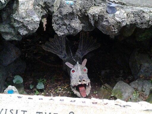 Under Fairy Tale Castle.  Ave Maria grotto