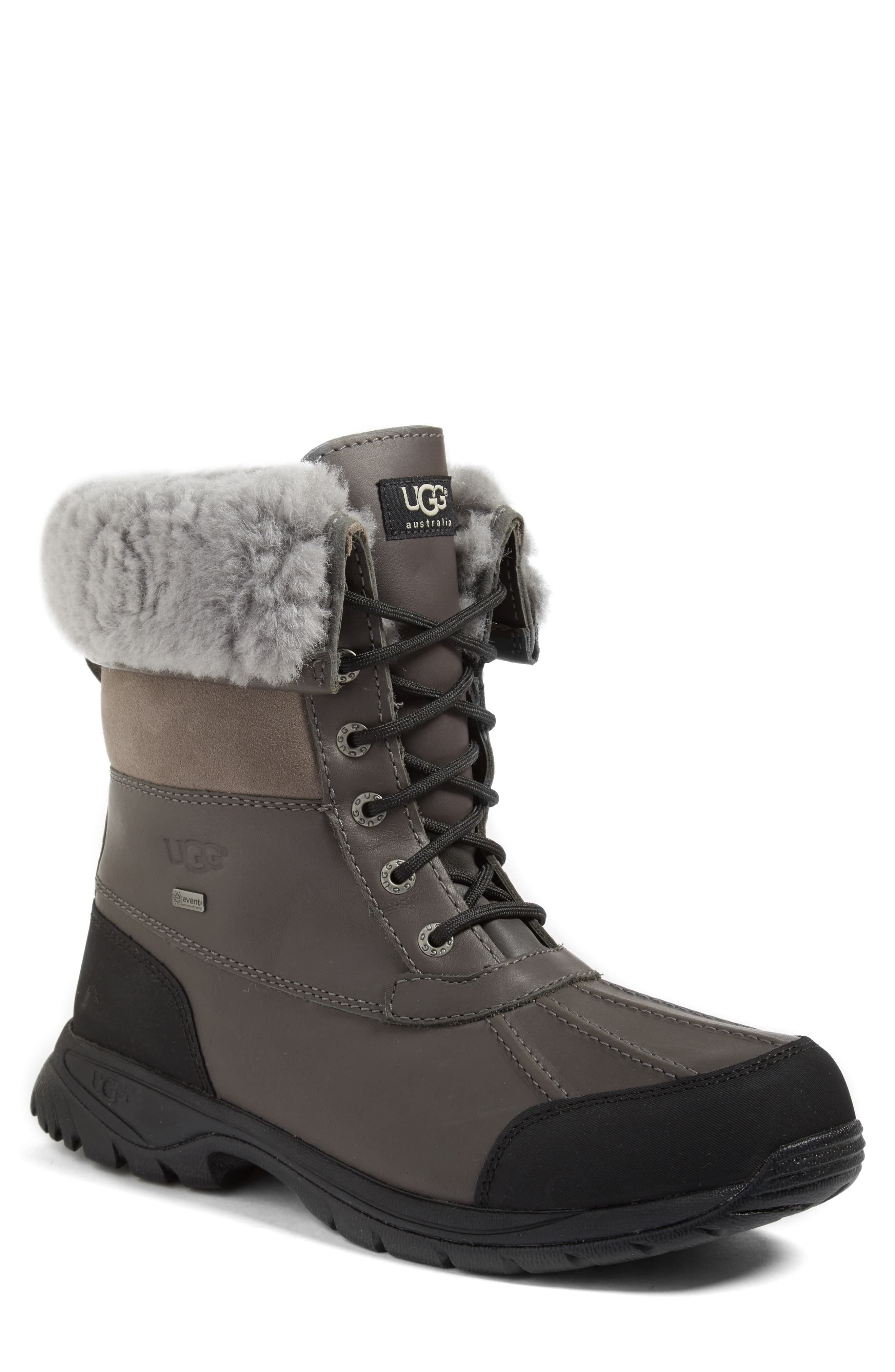 cbc0596cd31 Men's Ugg Butte Waterproof Boot, Size 7 M - Black in 2019 | Products ...