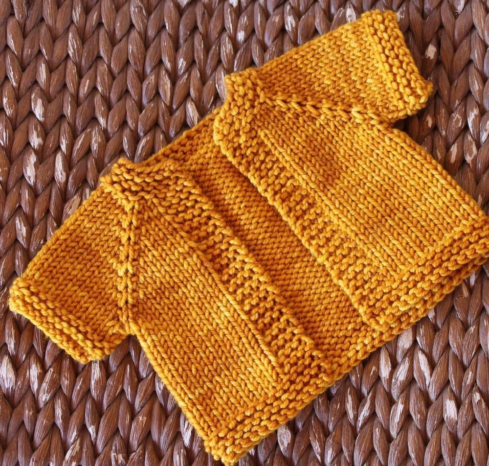 Bug Warmer baby cardigan knitting pattern. Get the FREE downloadable ...