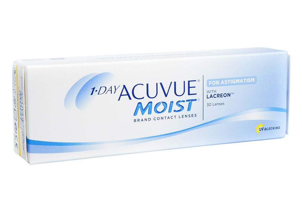 1 Day Acuvue Moist For Astigmatism 30 Pk Price Match Guarantee On Contacts Contact Lenses Online Contact Lenses Best Contact Lenses