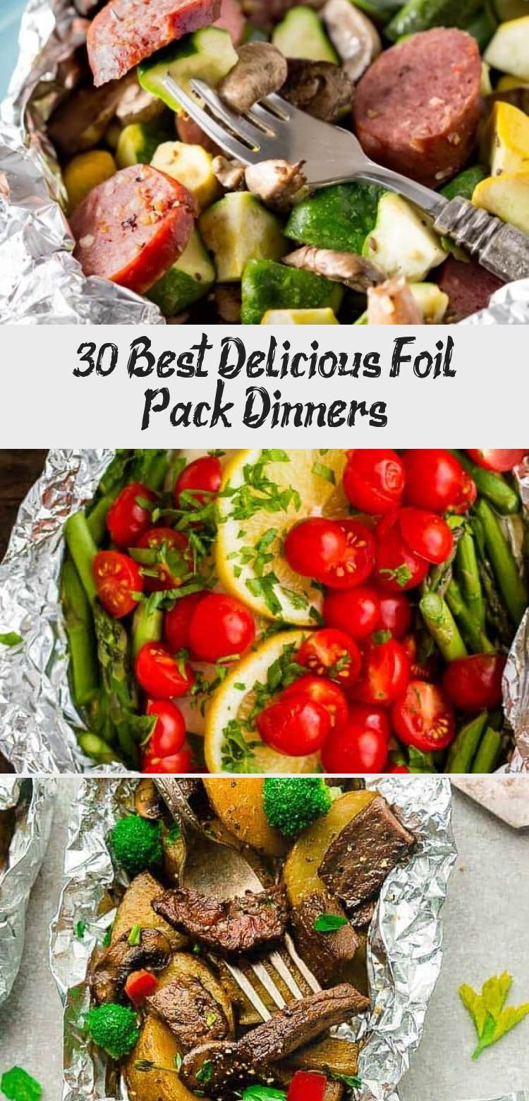 30 Best Delicious Foil Pack Dinners – Pinokyo