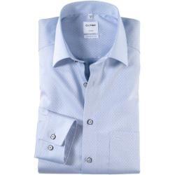 Olymp Luxor Hemd, comfort fit, New Kent, Bleu, 44 Olymp