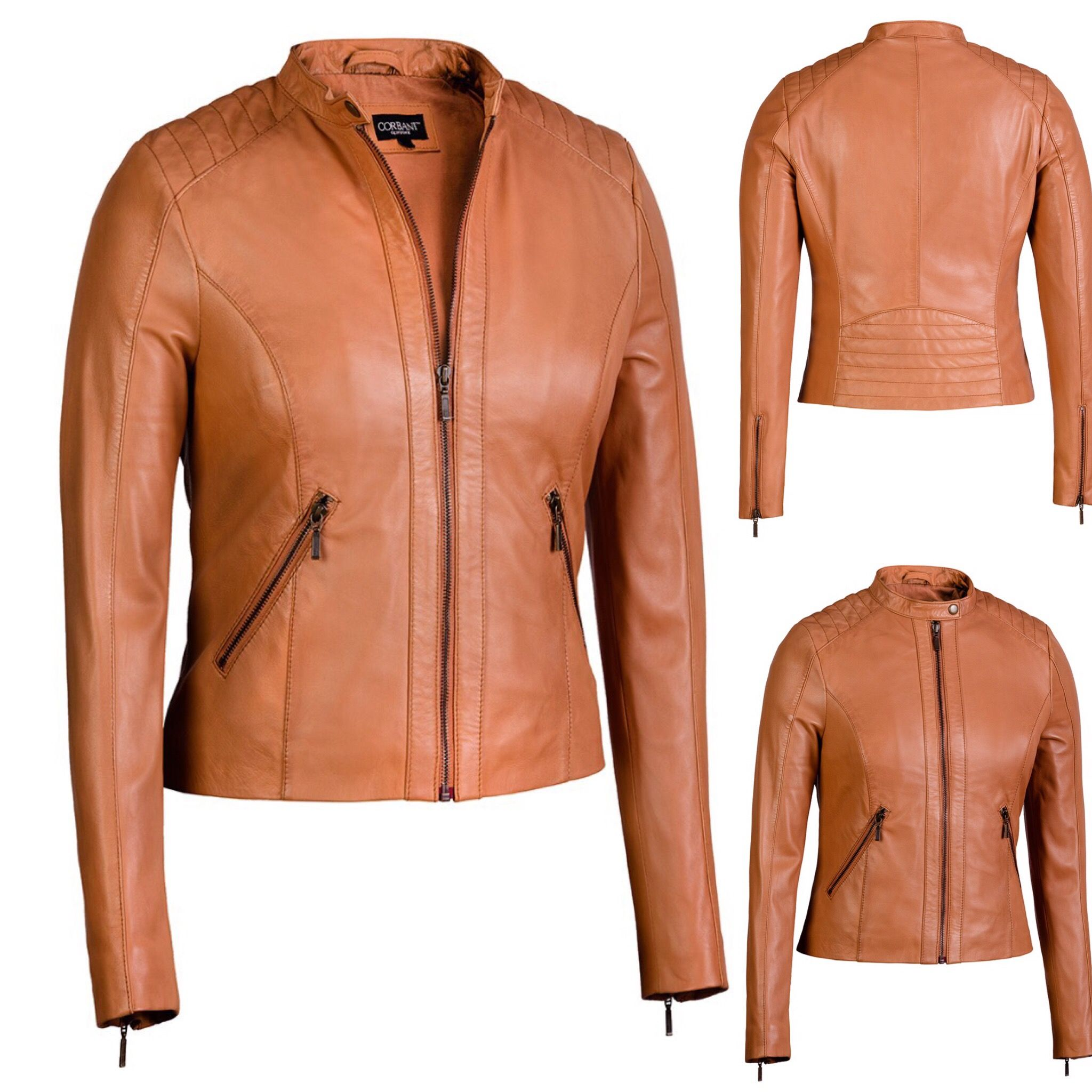 corbani #corbaniaw16 #corbaniwomen #leather #jackets - Amazon: www ...