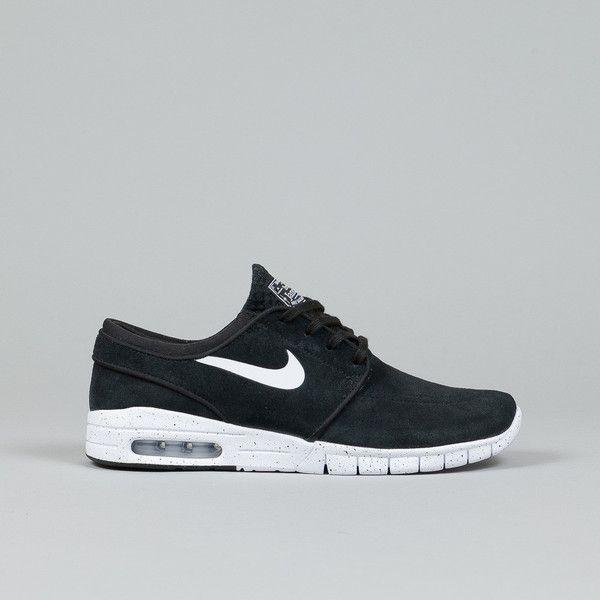 online retailer 64939 d7583 Nike SB Stefan Janoski Max L Black  White