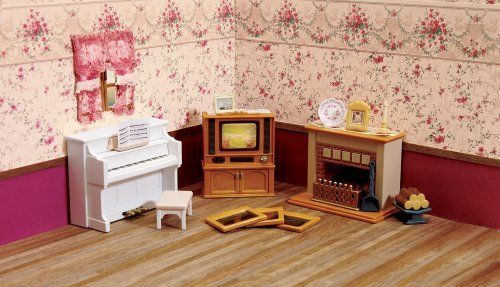Calico Critters Living Room Accessories Set By Calico Critters Coordinates Well With
