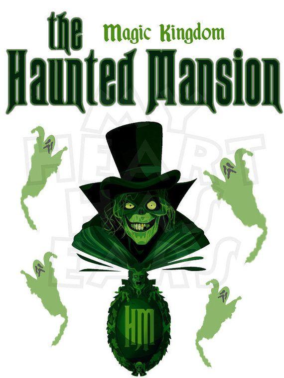 Printable DIY Haunted Mansion Magic Kingdom Disney World ...