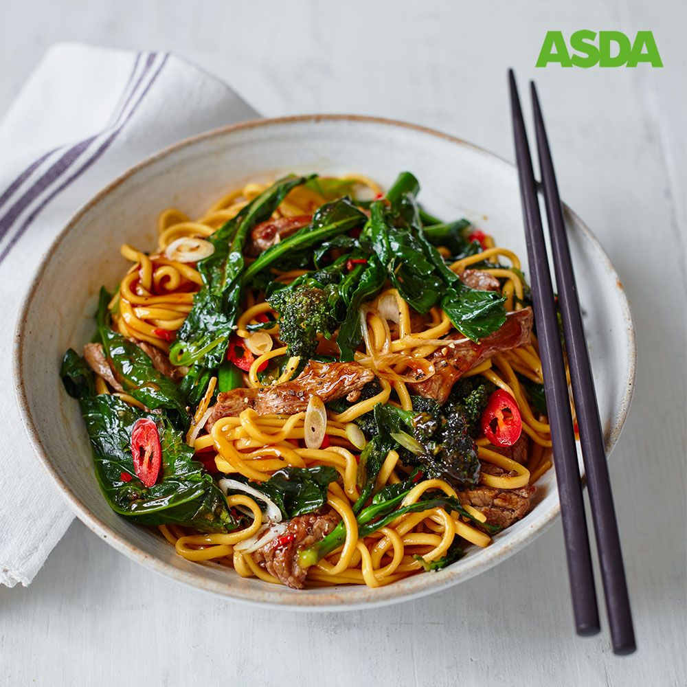 broccoli beef and noodle stir fry  recipe in 2020  beef