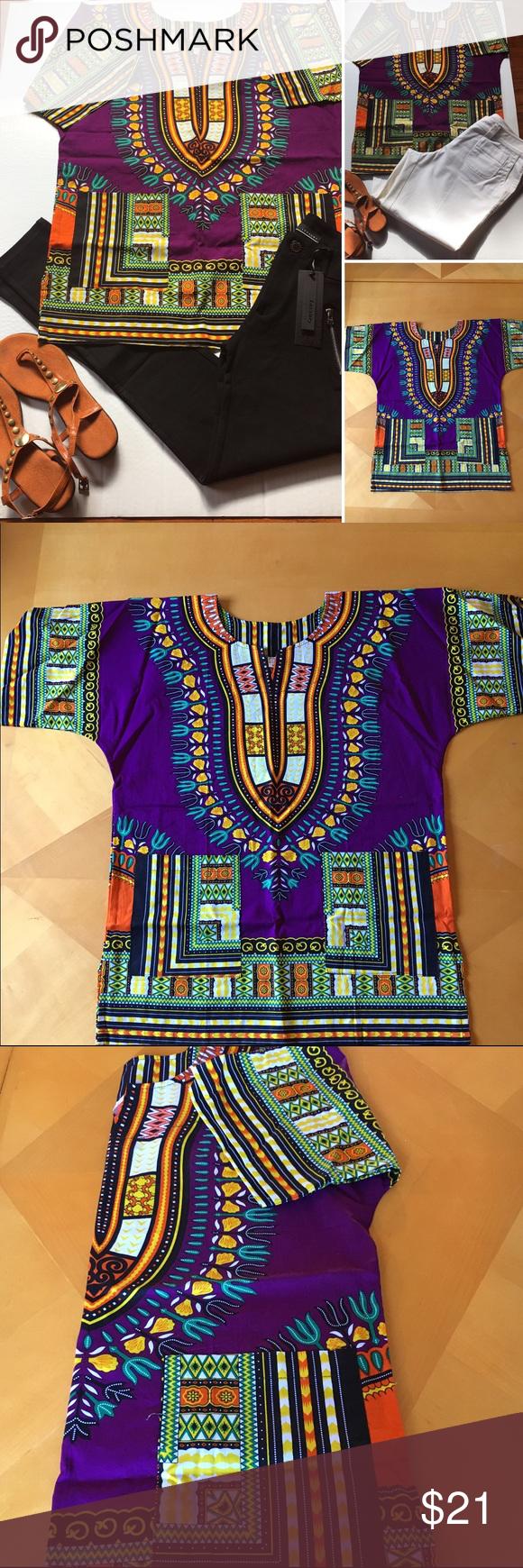 Dashiki (unisex) African Print Dashiki Traditional African