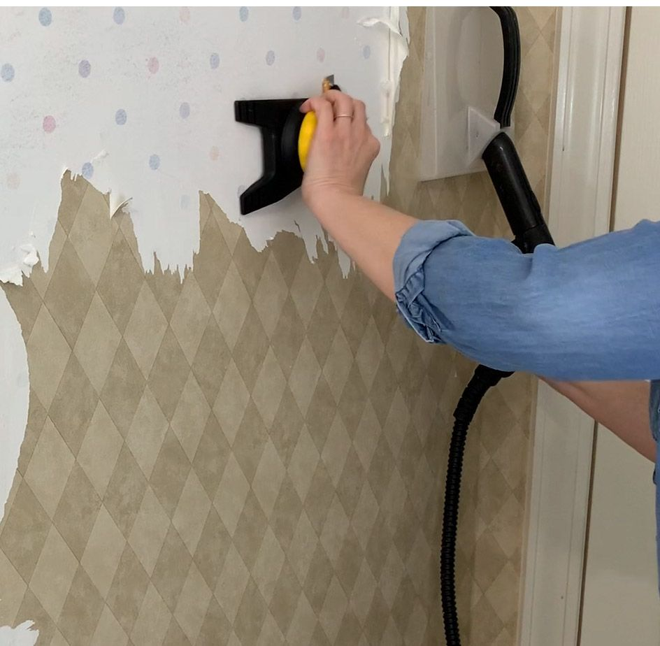 How To Prepare Walls For Paint After Removing Wallpaper Prepping Painting Over Wallpaper Prepping Walls For Painting Removable Wallpaper